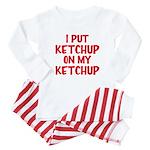 Ketchup Baby Pajamas