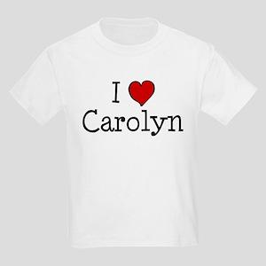 I love Carolyn Kids Light T-Shirt