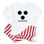 Noisyvision I Am Dangerous Baby Pajamas