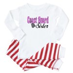 Coast Guard Sister Baby Pajamas