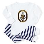 USS MERRIMACK Baby Pajamas