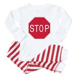 Stop Sign - Baby Pajamas