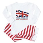 Armed Forces Day Baby Pajamas