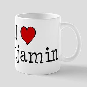 I love Benjamin Mug