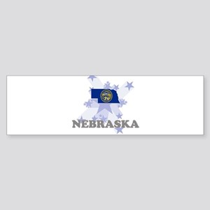 All Star Nebraska Bumper Sticker (10 pk)