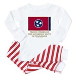 Tennessee Proud Citizen Baby Pajamas