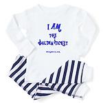 I am the golden ticket Baby Pajamas
