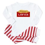 For Future Lawyers Baby Pajamas
