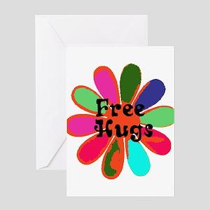 Free HUGS! Greeting Card