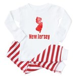 NEW JERSEY - Mobster retro Baby Baby Pajamas