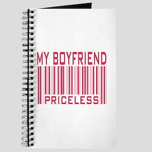 My Boyfriend Priceless Barcode Journal
