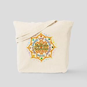 Multiple Sclerosis Lotus Tote Bag