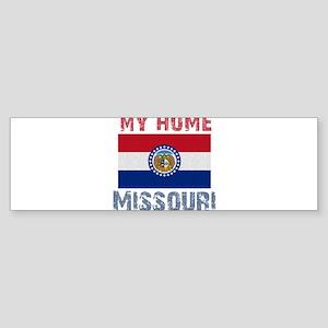 My Home Missouri Vintage Styl Sticker (Bumper 10 p