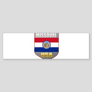 Missouri USA Crest Bumper Sticker (10 pk)