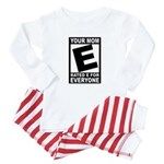 """Your Mom """"Rated E"""" Baby Pajamas"""