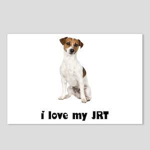 Jack Russell Terrier Lover Postcards (Package of 8