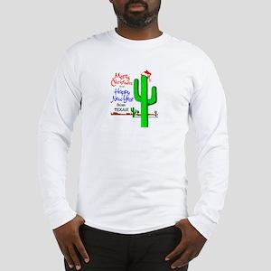 Texas Christmas Long Sleeve T-Shirt