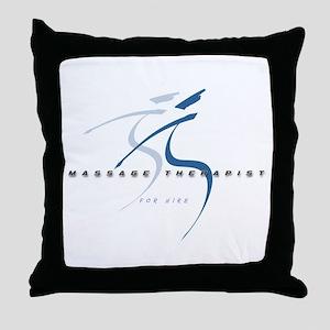 Massage Therapist Throw Pillow