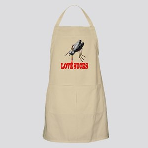 LOVE SUCKS BBQ Apron