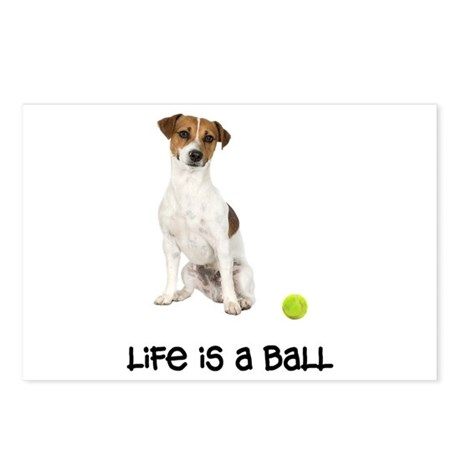 Jack Russell Terrier Life Postcards (Package of 8)