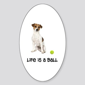 Jack Russell Terrier Life Sticker (Oval)