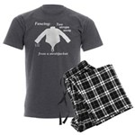 Straitjacket Men's Charcoal Pajamas