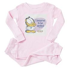 Spoiled Baby Garfield Baby Pajamas