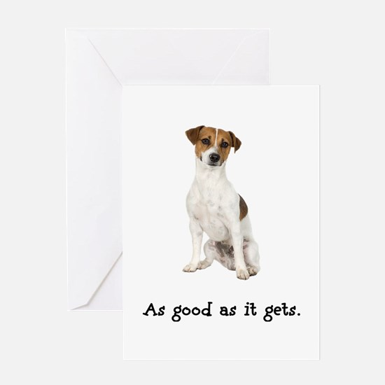 Good Jack Russell Terrier Greeting Card
