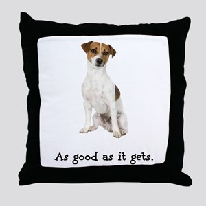 Good Jack Russell Terrier Throw Pillow