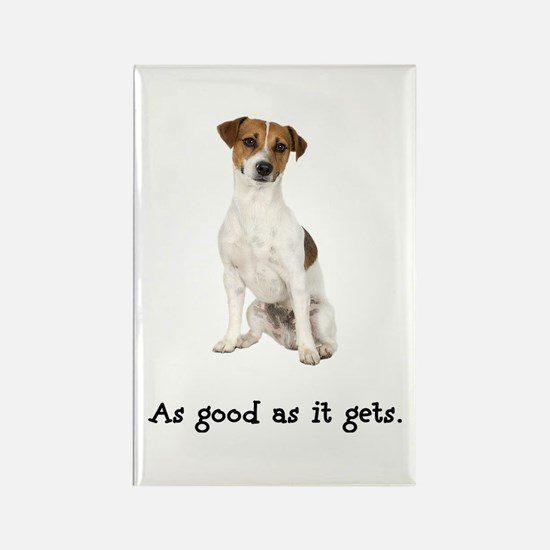 Good Jack Russell Terrier Rectangle Magnet