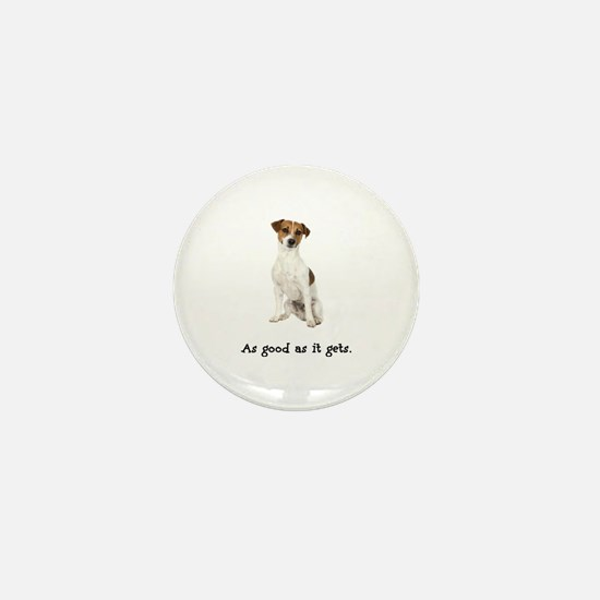 Good Jack Russell Terrier Mini Button