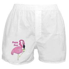 FLAMINGO COCKTAIL Boxer Shorts