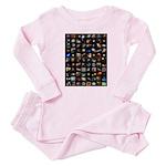 Hubble Space Telescope Baby Pajamas