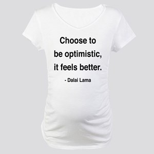 Dalai Lama 6 Maternity T-Shirt