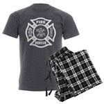 Fire Rescue Men's Charcoal Pajamas