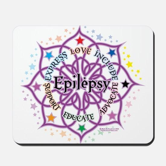 Epilepsy Lotus Mousepad