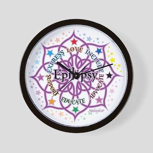 Epilepsy Lotus Wall Clock