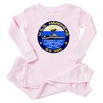 USS HARDHEAD Baby Pajamas