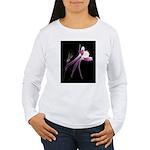 Floral Flow Women's Long Sleeve T-Shirt
