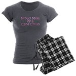 Proud Mom of a Cane Corso Women's Charcoal Pajamas