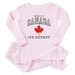 Canada Hockey Baby Pajamas