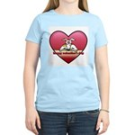 Valentine Women's Light T-Shirt (w/ 2CG logo)