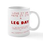 Leg day Mug