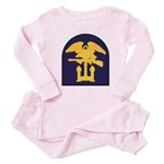 Third Special Engineer Brigade Baby Pajamas