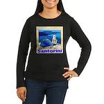 Venice Women's Long Sleeve Dark T-Shirt