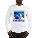 Santorini Greece Long Sleeve T-Shirt