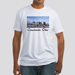 Cincinnati Ohio Fitted T-Shirt