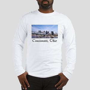 Cincinnati Ohio Long Sleeve T-Shirt