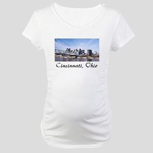 Cincinnati Ohio Maternity T-Shirt