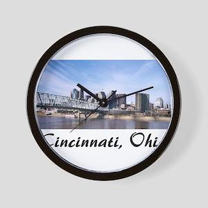Cincinnati Ohio Wall Clock
